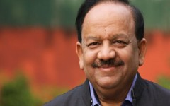 Union Minister for Science & Technology and Earth Sciences, Dr. Harsh Vardhan
